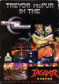 Trevor McFur in the Crescent Galaxy Jaguar Front Cover