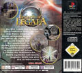 Legend of Legaia PlayStation Back Cover