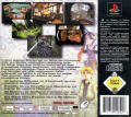 Star Ocean: The Second Story PlayStation Back Cover