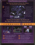 Star Wars: TIE Fighter - Defender of the Empire DOS Back Cover