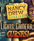 Nancy Drew Dossier: Lights, Camera, Curses! Windows Front Cover