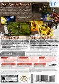 Mario Strikers Charged Wii Back Cover