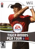 Tiger Woods PGA Tour 08 Wii Front Cover