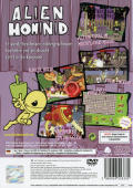 Alien Hominid PlayStation 2 Back Cover