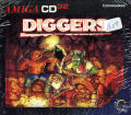 Diggers Amiga CD32 Front Cover