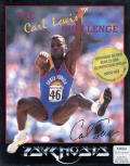 The Carl Lewis Challenge Amiga Front Cover