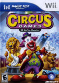 Circus Games Wii Front Cover