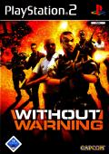 Without Warning PlayStation 2 Front Cover