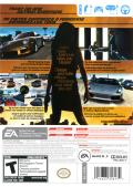 Need for Speed: Undercover Wii Back Cover