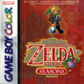 The Legend of Zelda: Oracle of Seasons Game Boy Color Front Cover