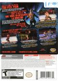 TNA iMPACT! Wii Back Cover