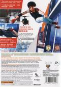 Mirror's Edge Xbox 360 Back Cover