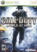 Call of Duty: World at War Xbox 360 Front Cover