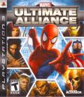 Marvel Ultimate Alliance PlayStation 3 Front Cover