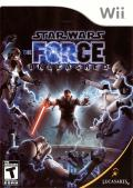 Star Wars: The Force Unleashed Wii Front Cover