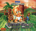 Chuck Rock II: Son of Chuck SEGA CD Front Cover
