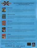 X-COM Collection Windows Back Cover
