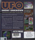X-COM: UFO Defense Amiga Back Cover