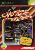 Midway Arcade Treasures Xbox Front Cover