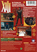 XIII Xbox Back Cover