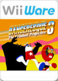 Strong Bad's Cool Game for Attractive People: Episode 4 - Dangeresque 3: The Criminal Projective  Wii Front Cover