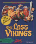 The Lost Vikings DOS Front Cover