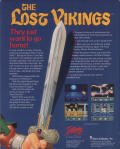 The Lost Vikings DOS Back Cover