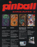 Pinball Dreams II DOS Back Cover