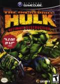 The Incredible Hulk: Ultimate Destruction GameCube Front Cover