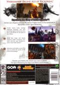 Warhammer Online: Age of Reckoning Windows Back Cover