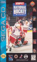 ESPN National Hockey Night SEGA CD Front Cover