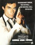 007: Licence to Kill Commodore 64 Inside Cover
