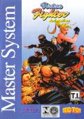 Virtua Fighter Animation SEGA Master System Front Cover