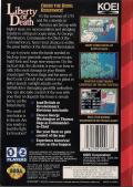 Liberty or Death Genesis Back Cover