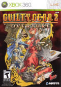 Guilty Gear 2: Overture Xbox 360 Front Cover