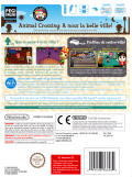 Animal Crossing: City Folk Wii Back Cover