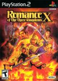 Romance of the Three Kingdoms X PlayStation 2 Front Cover