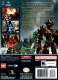 Bionicle Heroes GameCube Back Cover