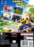 Pac-Man World Rally GameCube Back Cover