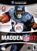 Madden NFL 07 GameCube Front Cover