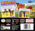Petz: Horsez 2 Nintendo DS Back Cover