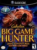 Cabela's Big Game Hunter 2005 Adventures GameCube Front Cover
