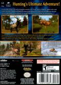 Cabela's Big Game Hunter 2005 Adventures GameCube Back Cover