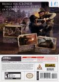 Call of Duty 3 Wii Back Cover