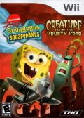 SpongeBob Squarepants: Creature from the Krusty Krab Wii Front Cover