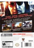 Driver: Parallel Lines Wii Back Cover