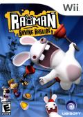 Rayman Raving Rabbids Wii Front Cover