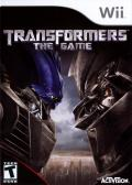 Transformers: The Game Wii Front Cover