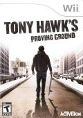 Tony Hawk's Proving Ground Wii Front Cover