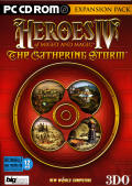 Heroes of Might and Magic IV: The Gathering Storm Windows Front Cover